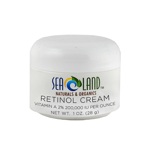 retinol cream 1 oz sea land naturals organics. Black Bedroom Furniture Sets. Home Design Ideas