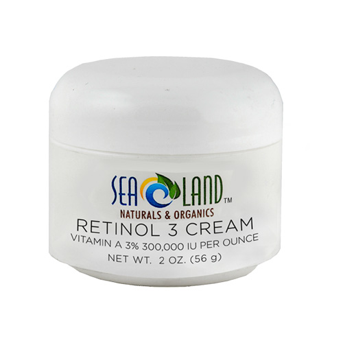 retinol 3 cream 2 oz sea land naturals organics. Black Bedroom Furniture Sets. Home Design Ideas